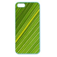 Leaf Plant Nature Pattern Apple Seamless Iphone 5 Case (color)