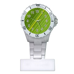 Leaf Plant Nature Pattern Plastic Nurses Watch by Nexatart