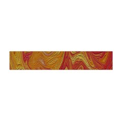 Texture Pattern Abstract Art Flano Scarf (mini)