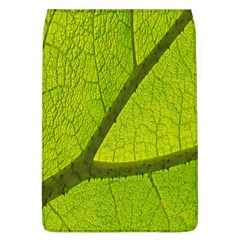 Green Leaf Plant Nature Structure Flap Covers (l)