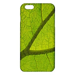 Green Leaf Plant Nature Structure Iphone 6 Plus/6s Plus Tpu Case