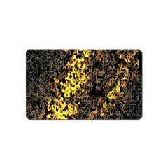 The Background Wallpaper Gold Magnet (name Card)