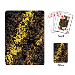 The Background Wallpaper Gold Playing Card