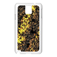 The Background Wallpaper Gold Samsung Galaxy Note 3 N9005 Case (white)