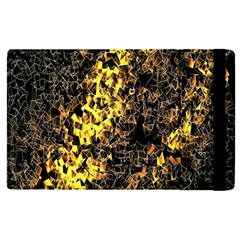 The Background Wallpaper Gold Apple Ipad Pro 9 7   Flip Case by Nexatart