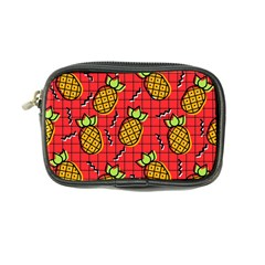 Fruit Pineapple Red Yellow Green Coin Purse by Alisyart