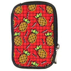 Fruit Pineapple Red Yellow Green Compact Camera Cases