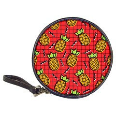 Fruit Pineapple Red Yellow Green Classic 20 Cd Wallets