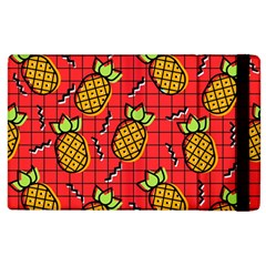 Fruit Pineapple Red Yellow Green Apple Ipad 2 Flip Case by Alisyart