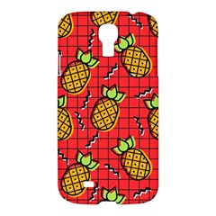 Fruit Pineapple Red Yellow Green Samsung Galaxy S4 I9500/i9505 Hardshell Case by Alisyart