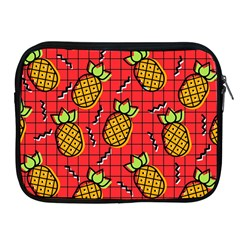 Fruit Pineapple Red Yellow Green Apple Ipad 2/3/4 Zipper Cases by Alisyart