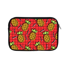 Fruit Pineapple Red Yellow Green Apple Ipad Mini Zipper Cases by Alisyart