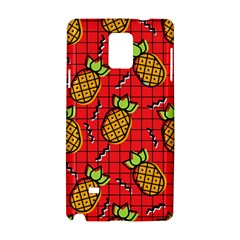Fruit Pineapple Red Yellow Green Samsung Galaxy Note 4 Hardshell Case by Alisyart