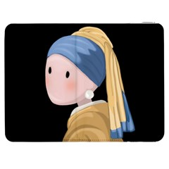 Girl With A Pearl Earring Samsung Galaxy Tab 7  P1000 Flip Case by Valentinaart