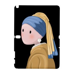 Girl With A Pearl Earring Galaxy Note 1 by Valentinaart