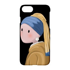 Girl With A Pearl Earring Apple Iphone 7 Hardshell Case by Valentinaart