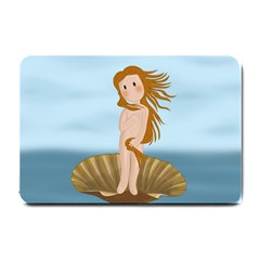 The Birth Of Venus Small Doormat  by Valentinaart