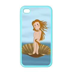 The Birth Of Venus Apple Iphone 4 Case (color) by Valentinaart