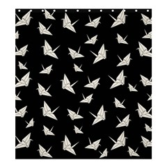 Paper Cranes Pattern Shower Curtain 66  X 72  (large)  by Valentinaart