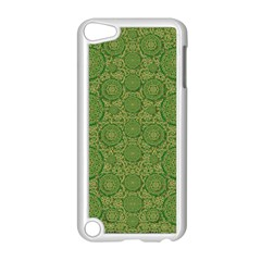 Stars In The Wooden Forest Night In Green Apple Ipod Touch 5 Case (white) by pepitasart