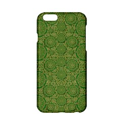 Stars In The Wooden Forest Night In Green Apple Iphone 6/6s Hardshell Case by pepitasart