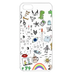 Cheerful Combo Apple Iphone 5 Seamless Case (white) by BoBo