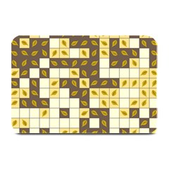 Autumn Leaves Pattern Plate Mats by linceazul