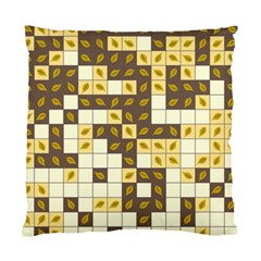 Autumn Leaves Pattern Standard Cushion Case (two Sides) by linceazul