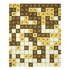 Autumn Leaves Pattern Shower Curtain 60  X 72  (medium)  by linceazul