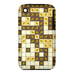 Autumn Leaves Pattern Iphone 3s/3gs by linceazul