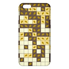 Autumn Leaves Pattern Iphone 6 Plus/6s Plus Tpu Case by linceazul