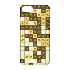 Autumn Leaves Pattern Apple Iphone 7 Hardshell Case by linceazul