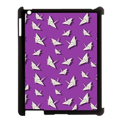 Paper Cranes Pattern Apple Ipad 3/4 Case (black) by Valentinaart