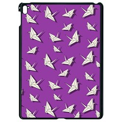 Paper Cranes Pattern Apple Ipad Pro 9 7   Black Seamless Case by Valentinaart