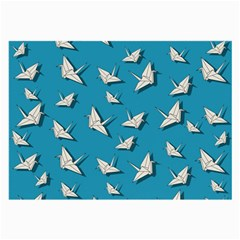 Paper Cranes Pattern Large Glasses Cloth (2 Side)
