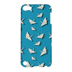 Paper Cranes Pattern Apple Ipod Touch 5 Hardshell Case by Valentinaart