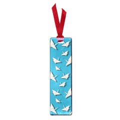 Paper Cranes Pattern Small Book Marks by Valentinaart