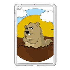Groundhog Day Apple Ipad Mini Case (white) by Valentinaart