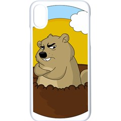 Groundhog Day Apple Iphone X Seamless Case (white) by Valentinaart