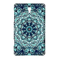 Green Blue Black Mandala  Psychedelic Pattern Samsung Galaxy Tab S (8 4 ) Hardshell Case  by Costasonlineshop