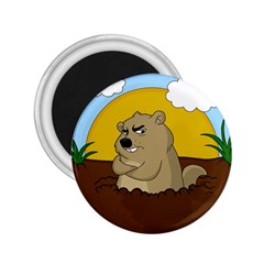 Groundhog Day 2 25  Magnets