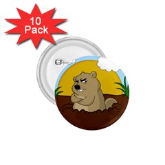 Groundhog Day 1 75  Buttons (10 Pack) by Valentinaart