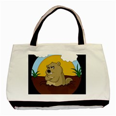 Groundhog Day Basic Tote Bag (two Sides) by Valentinaart