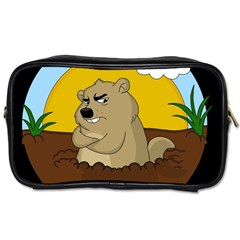Groundhog Day Toiletries Bags