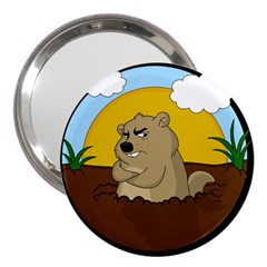Groundhog Day 3  Handbag Mirrors