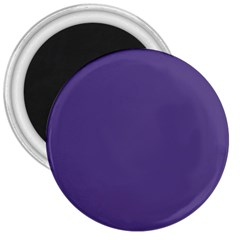 Color Of The Year 2018   Ultraviolet   Pure&basic 3  Magnets by tarastyle