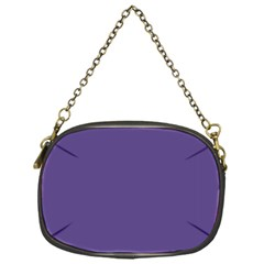 Color Of The Year 2018   Ultraviolet   Pure&basic Chain Purses (one Side)  by tarastyle