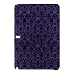 Color Of The Year 2018   Ultraviolet   Art Deco Black Edition Samsung Galaxy Tab Pro 10 1 Hardshell Case by tarastyle