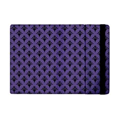 Color Of The Year 2018   Ultraviolet   Art Deco Black Edition  Apple Ipad Mini Flip Case by tarastyle