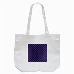 Color Of The Year 2018   Ultraviolet   Art Deco Black Edition  Tote Bag (white) by tarastyle